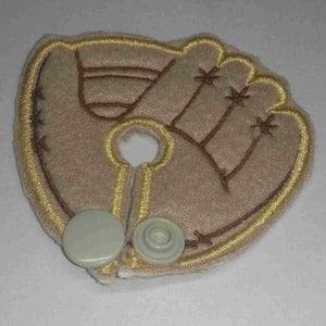Baseball Glove - Feeding Tube Pad - Tubie Whoobies