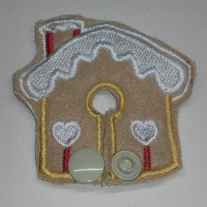 Gingerbread House - Feeding Tube Pad - Tubie Whoobies