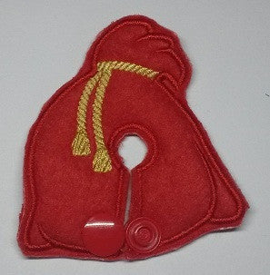Santa's Bag - Feeding Tube Pad - Tubie Whoobies