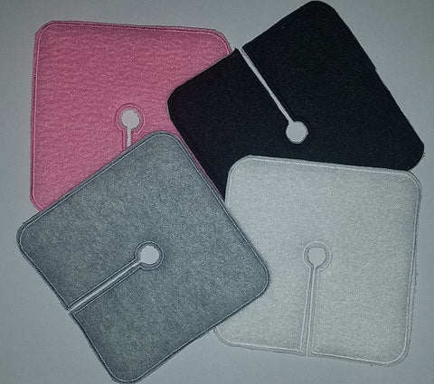 Trach Pads - Plain Colors - Feeding Tube Pad - Tubie Whoobies