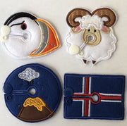 """New"" Set (4) - Travel Iceland"