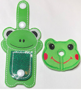 """New"" Frog/Shaped Tubie Clip Combo"