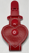 """New"" Shaped Tubie Clip-Heart"