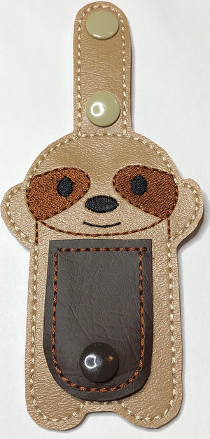 Shaped Tubie Clip-Sloth