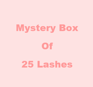 Mystery Box of 25 Lashes