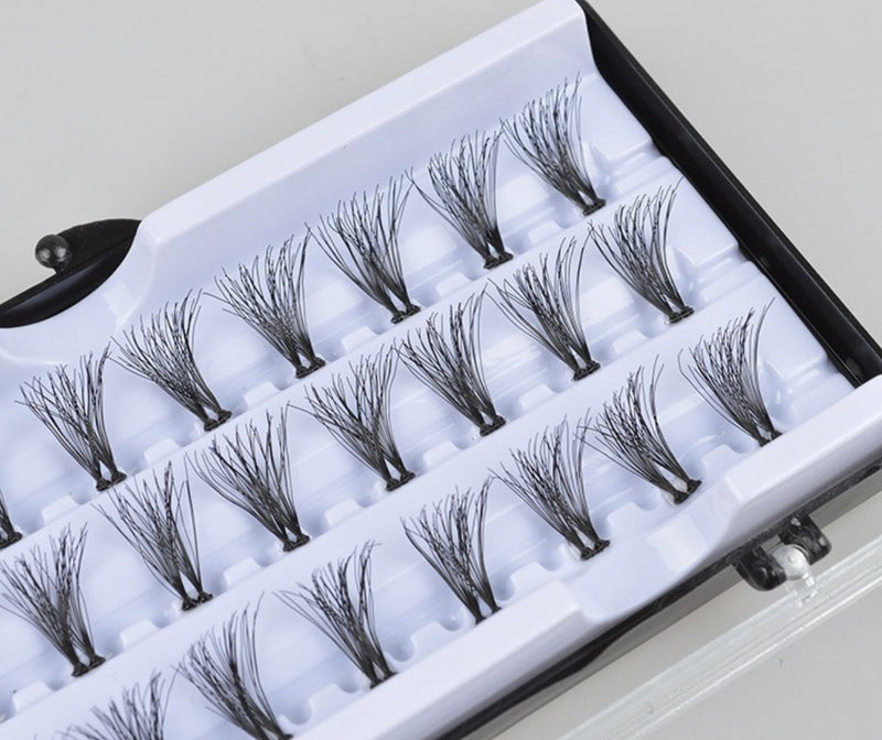 Double Flare Cluster Lashes