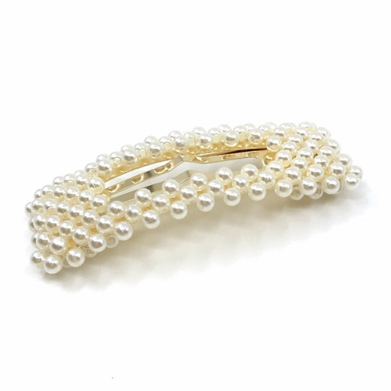 Mother Of Pearls Barrette Clips