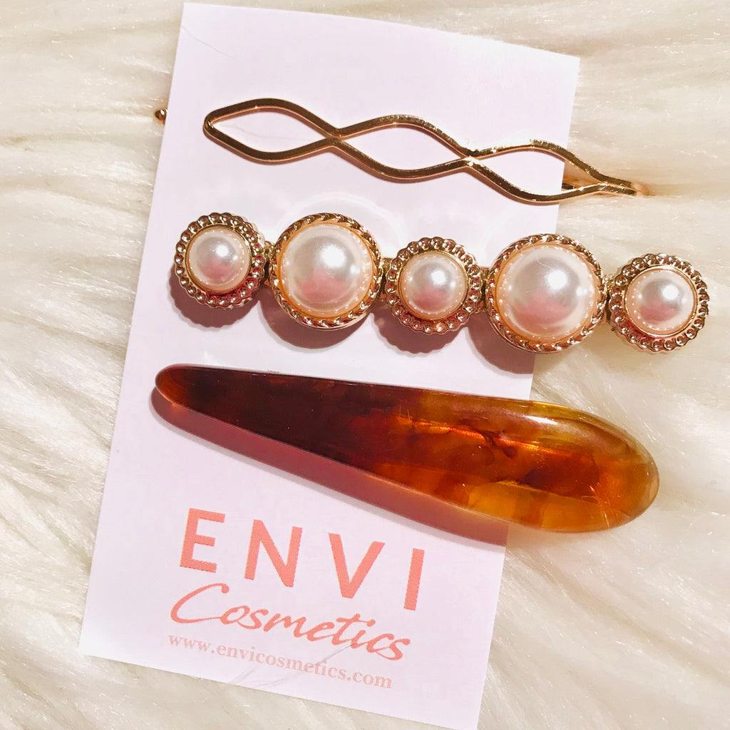 VENUS BARRETTE SET