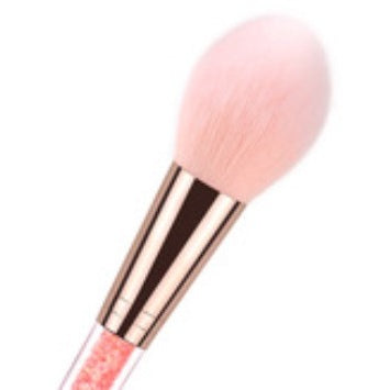 [Princess brush holder with pink diamond lid] - Beauty Glamour Box