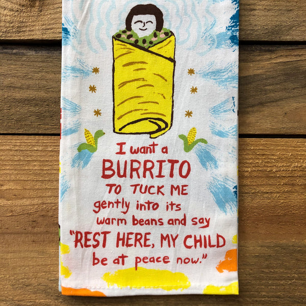 Want a Burrito Towel
