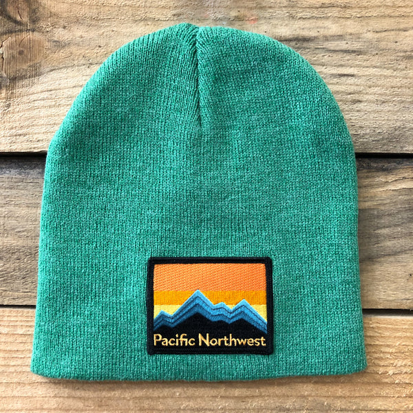 NW Mountains Classic Beanie