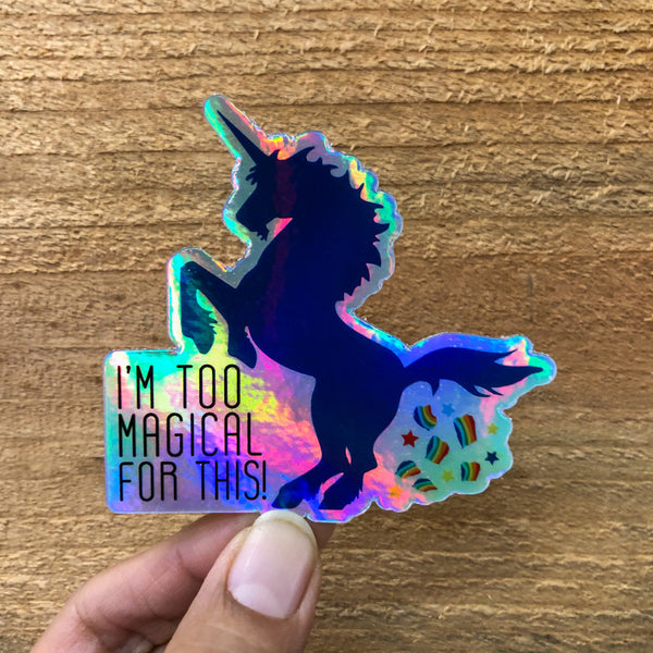 Too Magical Sticker