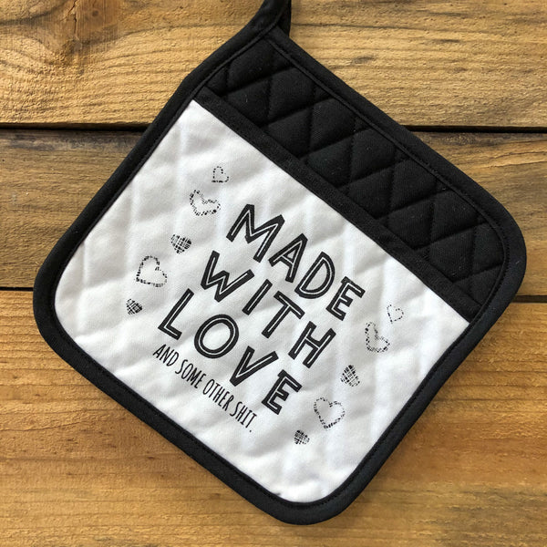 Made With Love Pot Holder