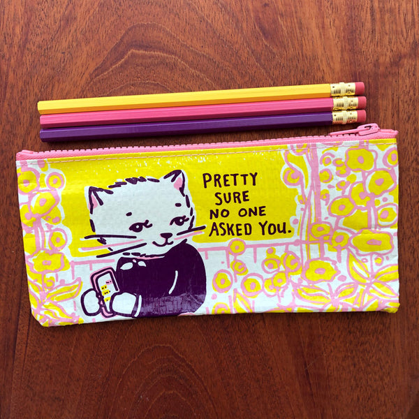 Pretty Sure Pencil Case