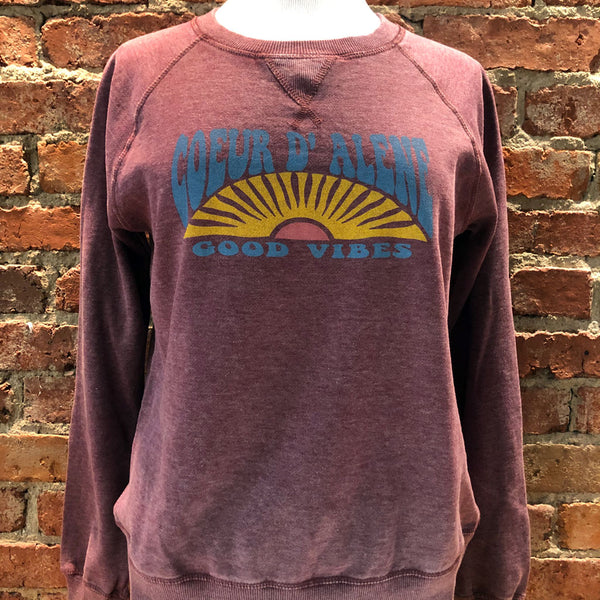 Ladies Day Dreamer Sun Fleece Crew Neck