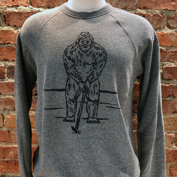 Unisex Bigfoot Golf Sweatshirt