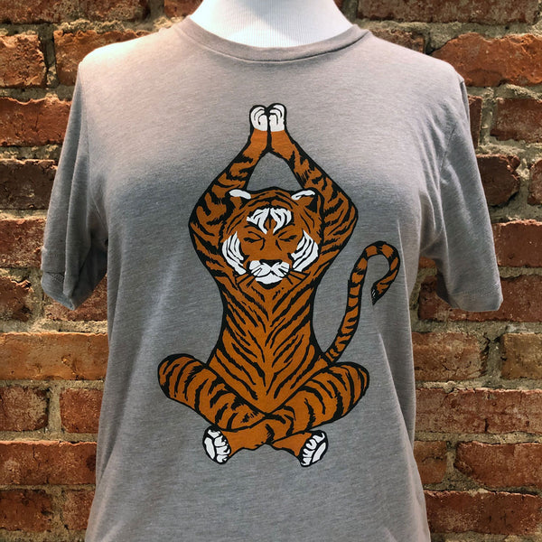 Ladies Tiger Yoga Tee