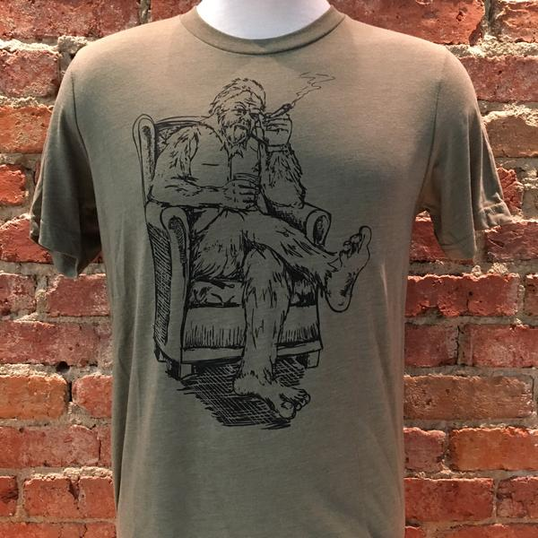 Unisex Bigfoot Whiskey Tee