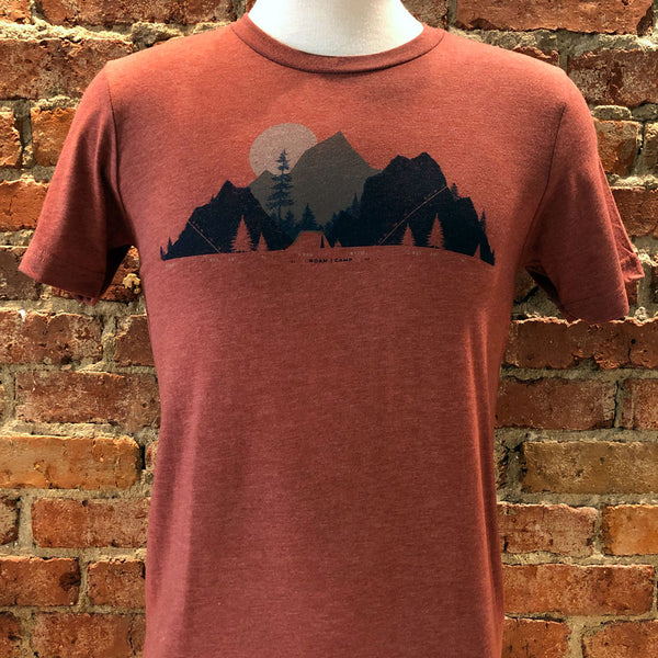 Unisex Camp and Topo Tee