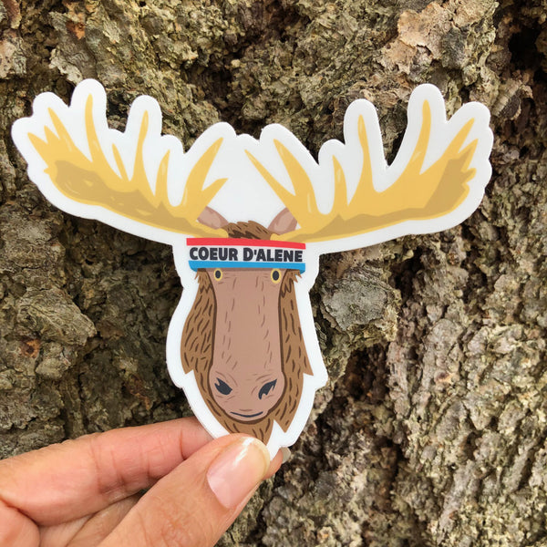 CDA Moose Sticker