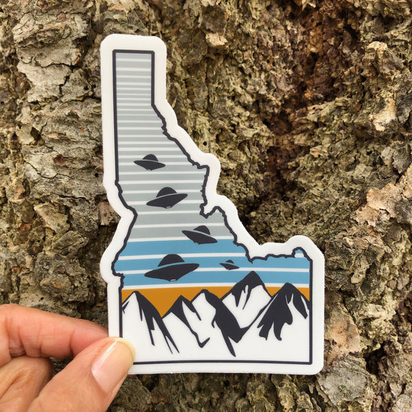 Idaho Believe Map Sticker