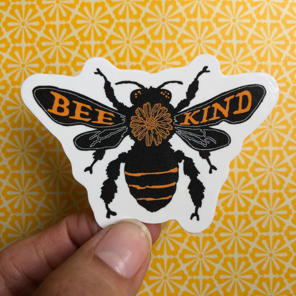 Bee Kind Small Sticker