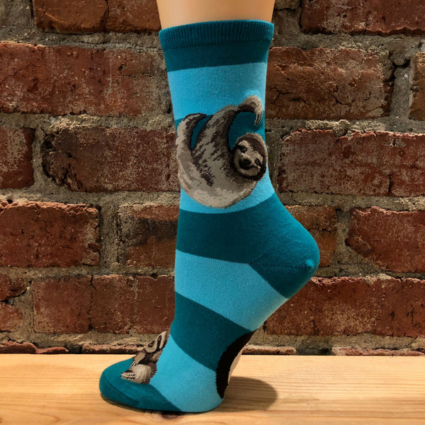 Sloth Stripe Socks