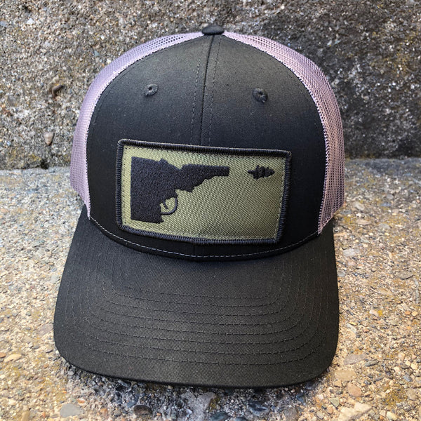 Idaho Tree Gun Patch Adj Hat