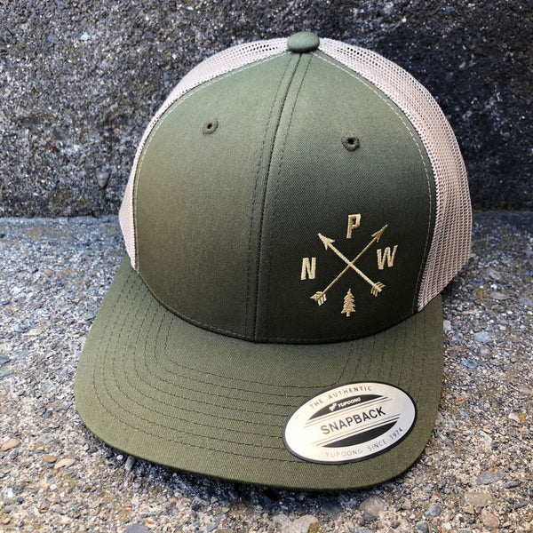 PNW Arrows Trucker