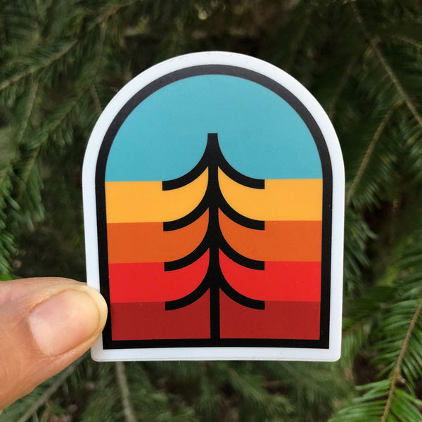 Tree Crest Sticker