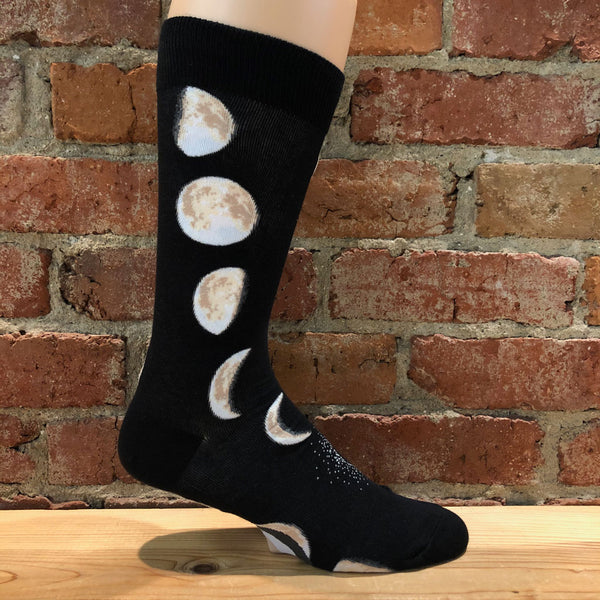 Mens Moon Phases Socks