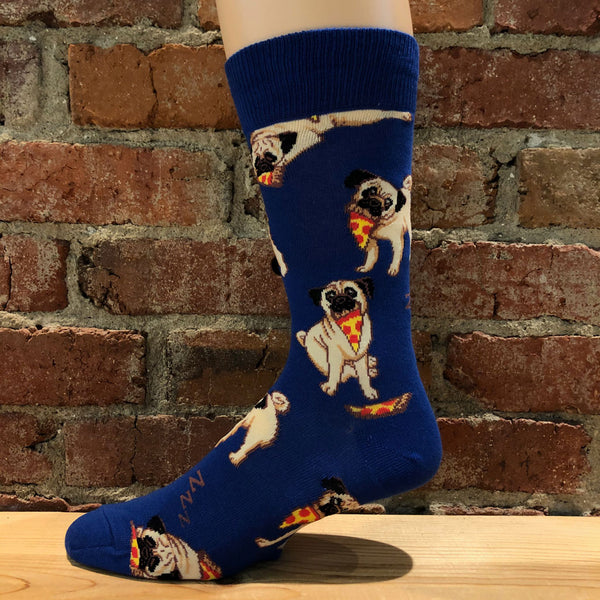 Men's Man's Best Friends Socks Blue
