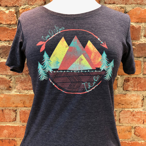 Ladies Jasper Mountain Pines Tee