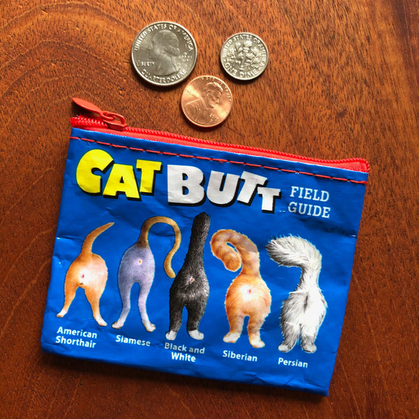 Cat Butts Coin Purse