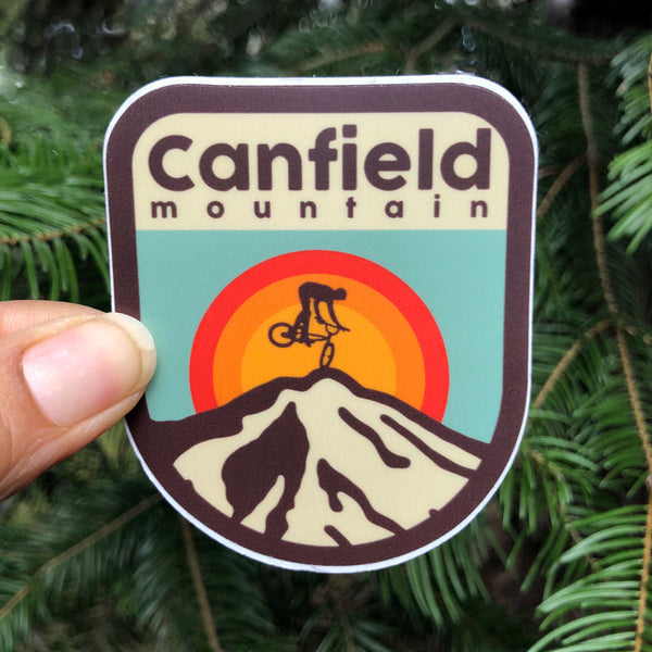 Canfield Mt. Small Sticker