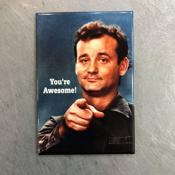 Bill Murray You're Awesome Magnet