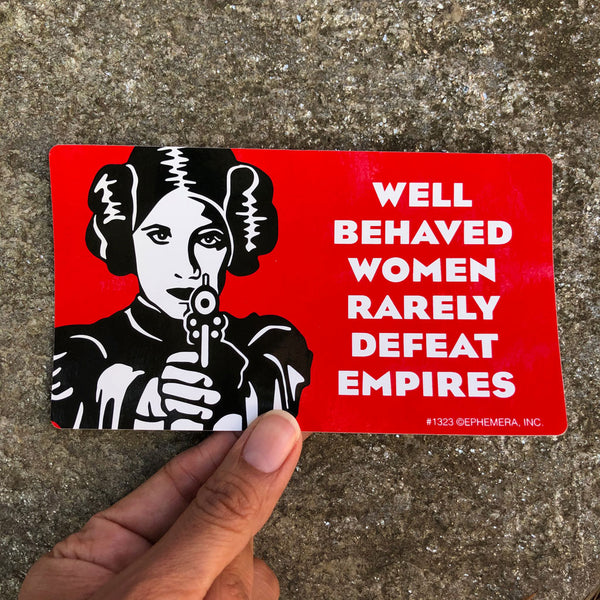 Women Defeat Empires Sticker