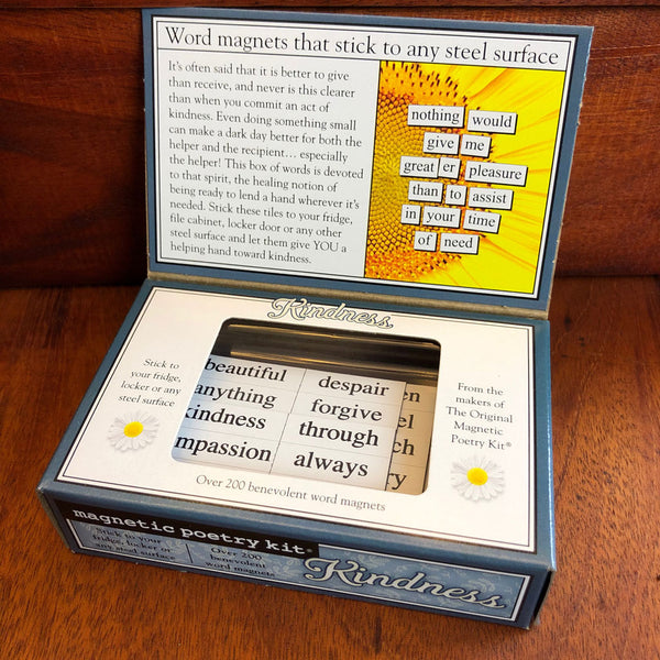 Kindness Magnetic Poetry