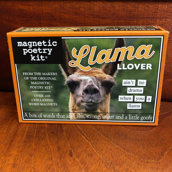 Llama Lover Magnetic Poetry