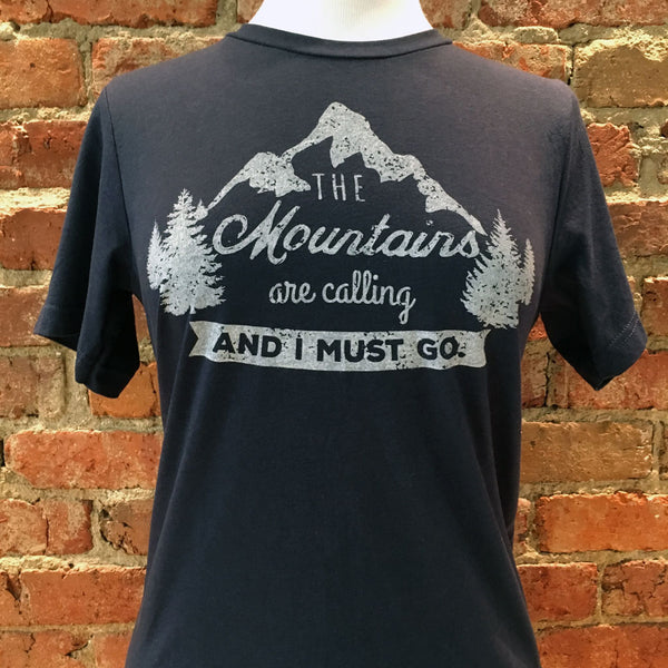Ladies Mountains Are Calling Tee