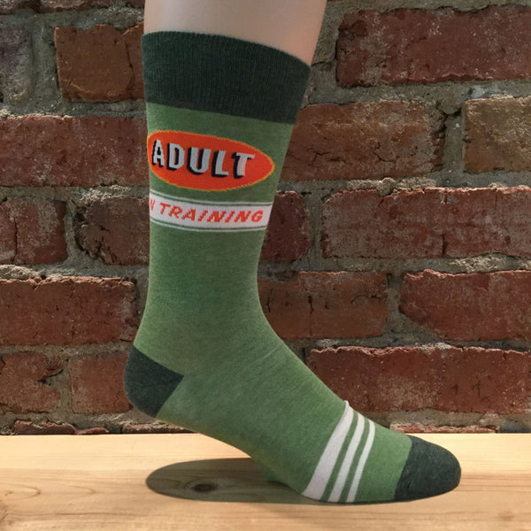 Mens Adult In Training Socks