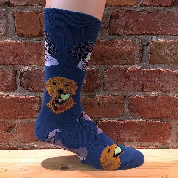 Mens Ball Dog Socks