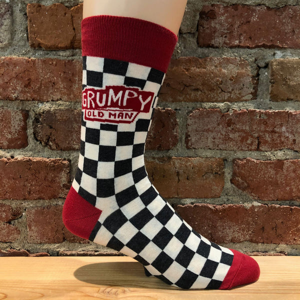 Men's Grumpy Old Man Socks