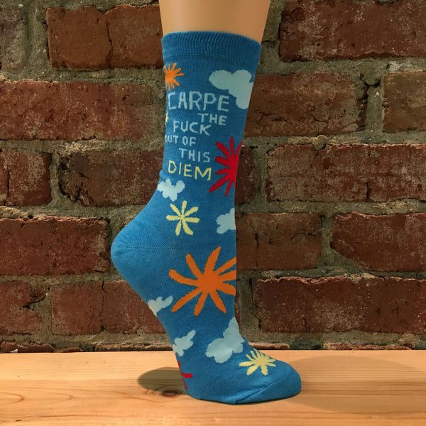 Carpe Diem Socks