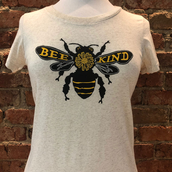 Ladies Fitted Bee Kind Tee