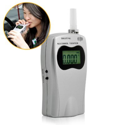 Deluxe edition Breathalyzer Alcohol Tester with a LED display