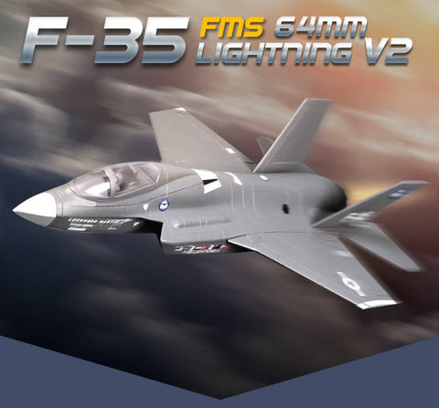 $$$SAVE$$$ F-35 (EPO) V2 698mm RC Airplane Fixed Wing Aircraft Wingspan 64mm Ducted Jet Fighter