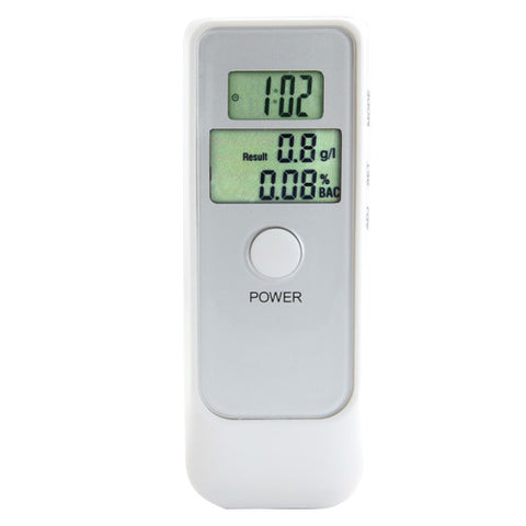 Alcohol Breath Tester - Dual LCD Display