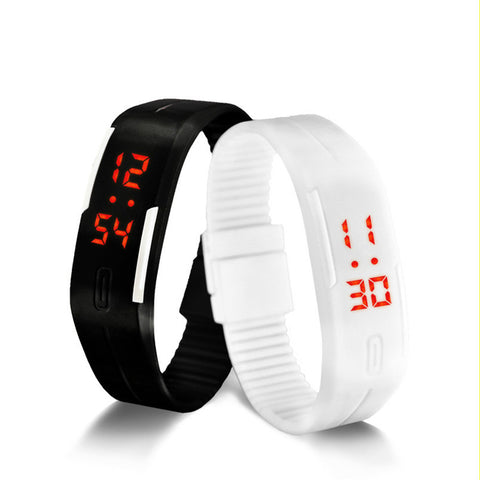 $$$SAVE$$$ 2016 Candy Colour Male or Female Wristwatch Silicone LED for kids Watch has Date, Bracelet, Digital Sports + Waterproof.