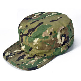 Camouflage Hiking or Camping Hat